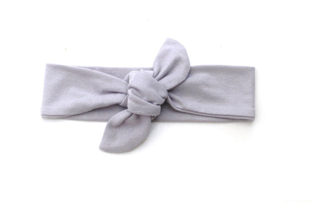 TOP KNOT HEADBAND - SOLID PINK HEADBAND