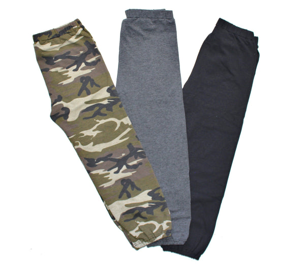 UNISEX BAGGY PANTS - 4 COLOR OPTIONS - LITTLE FOOT CLOTHING CO.