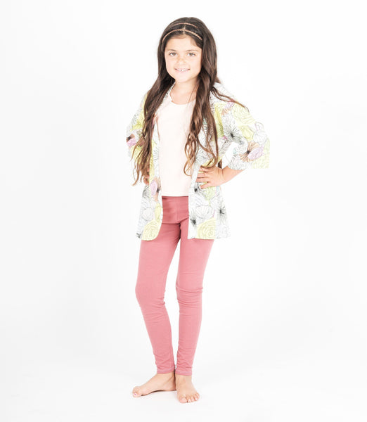 TWEEN LEGGINGS - SOLID COLORS (Tween Clothing). 4 COLOR OPTIONS