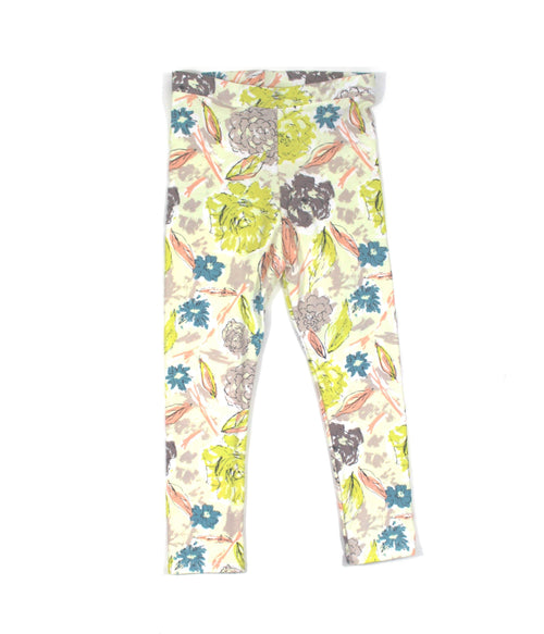 FLORAL LEGGINGS - 5 OPTIONS - LITTLE FOOT CLOTHING CO.