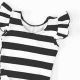 GIRLS STRIPE TANK LEOTARDS - 3 OPTIONS - LITTLE FOOT CLOTHING CO.