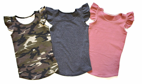 GIRLS TANK TOPS - 5 OPTIONS - LITTLE FOOT CLOTHING CO.
