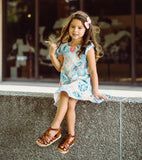RUFFLE TUNIC DRESS - 5 OPTIONS - LITTLE FOOT CLOTHING CO.