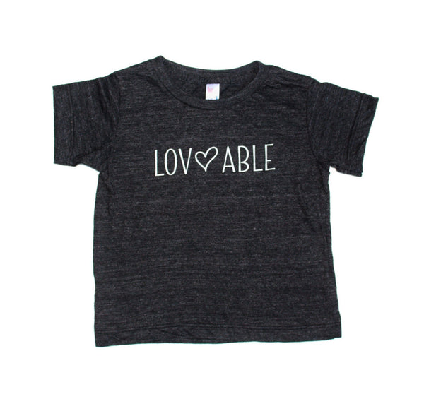 LOVEABLE - GRAPHIC TEE (Kid's T-Shirt)