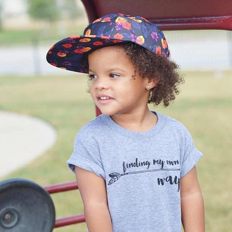FINDING MY OWN WAY - GRAPHIC TEE (Baby, toddlers, little kids & big kids).