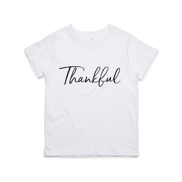 THANKFUL T-SHIRT - 2 SHIRT OPTIONS - LITTLE FOOT CLOTHING CO.