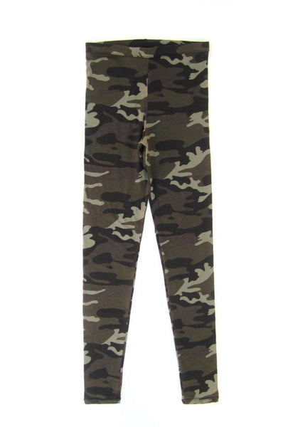 WOMEN'S LEGGINGS - CAMO (SLIM FIT Leggings, runs small).