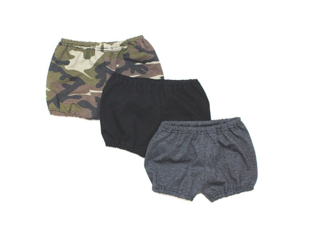 GRAY GRAFFITI HAREM SHORTS