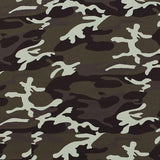 UNISEX BABY CAMO SNAP ROMPER - LITTLE FOOT CLOTHING CO.