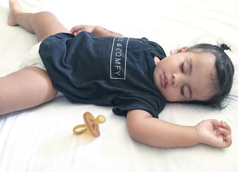 CHILL & COMFY - GRAPHIC TEE (Baby, toddlers, little kids & big kids).