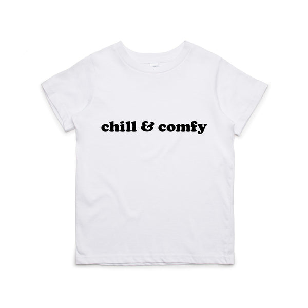 CHILL & COMFY T-SHIRT - 2 SHIRT OPTIONS - LITTLE FOOT CLOTHING CO.