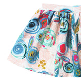 GIRLS FLORAL SKIRT - 5 COLOR OPTIONS - LITTLE FOOT CLOTHING CO.