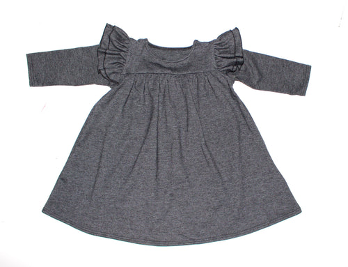 Long sleeve Madison Dress - 4 options - LITTLE FOOT CLOTHING CO.