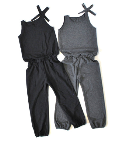 GIRLS OFF THE SHOULDER JUMP SUIT - 5 OPTIONS