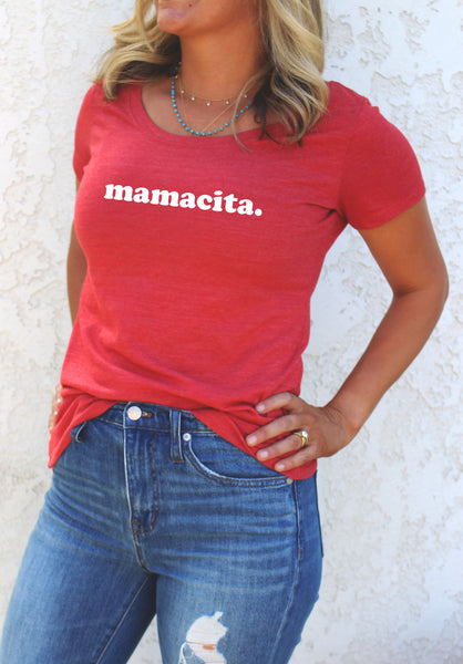 MAMACITA. SCOOP NECK - MORE COLORS - LITTLE FOOT CLOTHING CO.