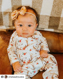 Organic baby romper - 2 Options - LITTLE FOOT CLOTHING CO.