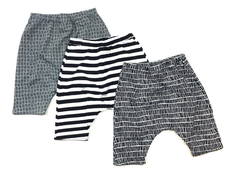 UNISEX STRIPE HAREM PANTS - 2 OPTIONS