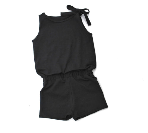 Girls shorts jumpsuit - 4 options - LITTLE FOOT CLOTHING CO.
