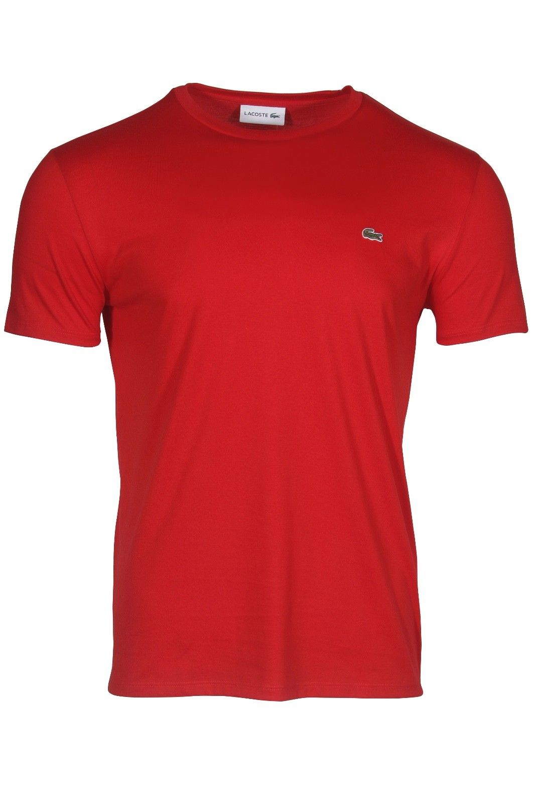 260e15df2c9b Lacoste Men's Crew Neck Pima Cotton Jersey T-Shirt - modanet.com