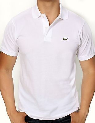 Lacoste Men/'s Polo Shirt Short Sleeve S//S Cotton Pique Classic Fit L 12.12