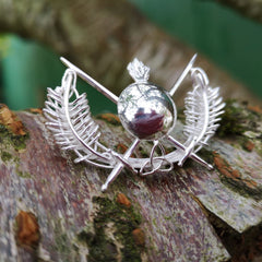 Irish made jewellery, this bespoke Military Brooch is handmade and ready for its forever home!