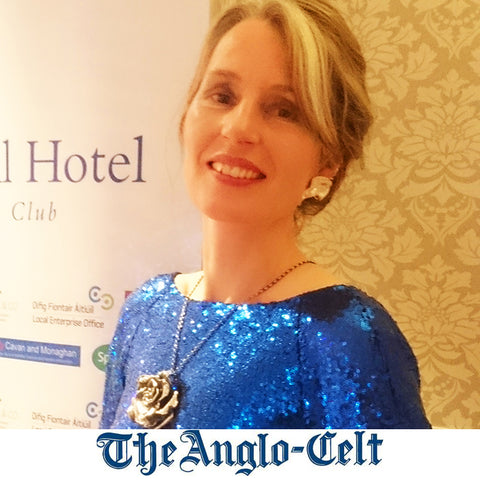 Elena Brennan Jewellery won the award for Best in Fashion at the Anglo Celt Awards in 2015.