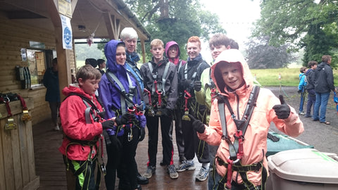 Elena Brennan Jewellery family adventure at Zipit Lough Key Forest Park!