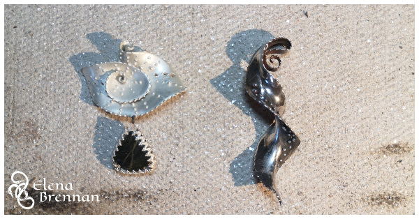 Some one off bespoke pendants that could be used for the Mount Everest Pendant.