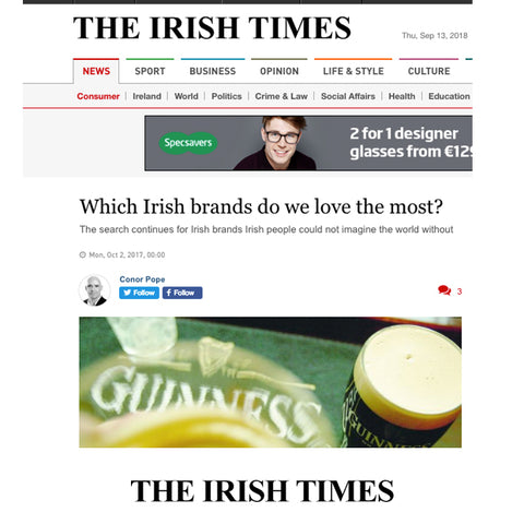 Elena Brennan Jewellery featured in the Irish Times Newspaper.