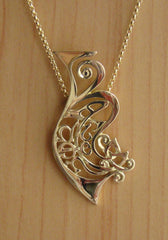 Finished necklace for Bespoke Jewellery. Handcrafted Irish design, made my Elena Brennan in Cavan Ireland.