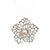 Petals & Pearls Lacy Flower Pendant, Gorgeous, elegant and simple in it's beauty. Elena Brennan Jewellery