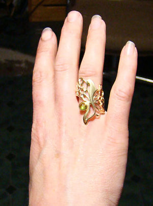 Butterfly Wing Gossamer Ring