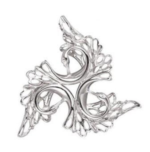 Sterling Silver Swan Brooch. Irish Handmade Jewellery