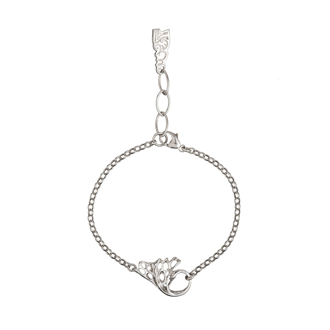 Swan Chain Bracelet, silver sterling jewelry. With matching pendant and earrings available, the jewelry set will make the perfect gift!