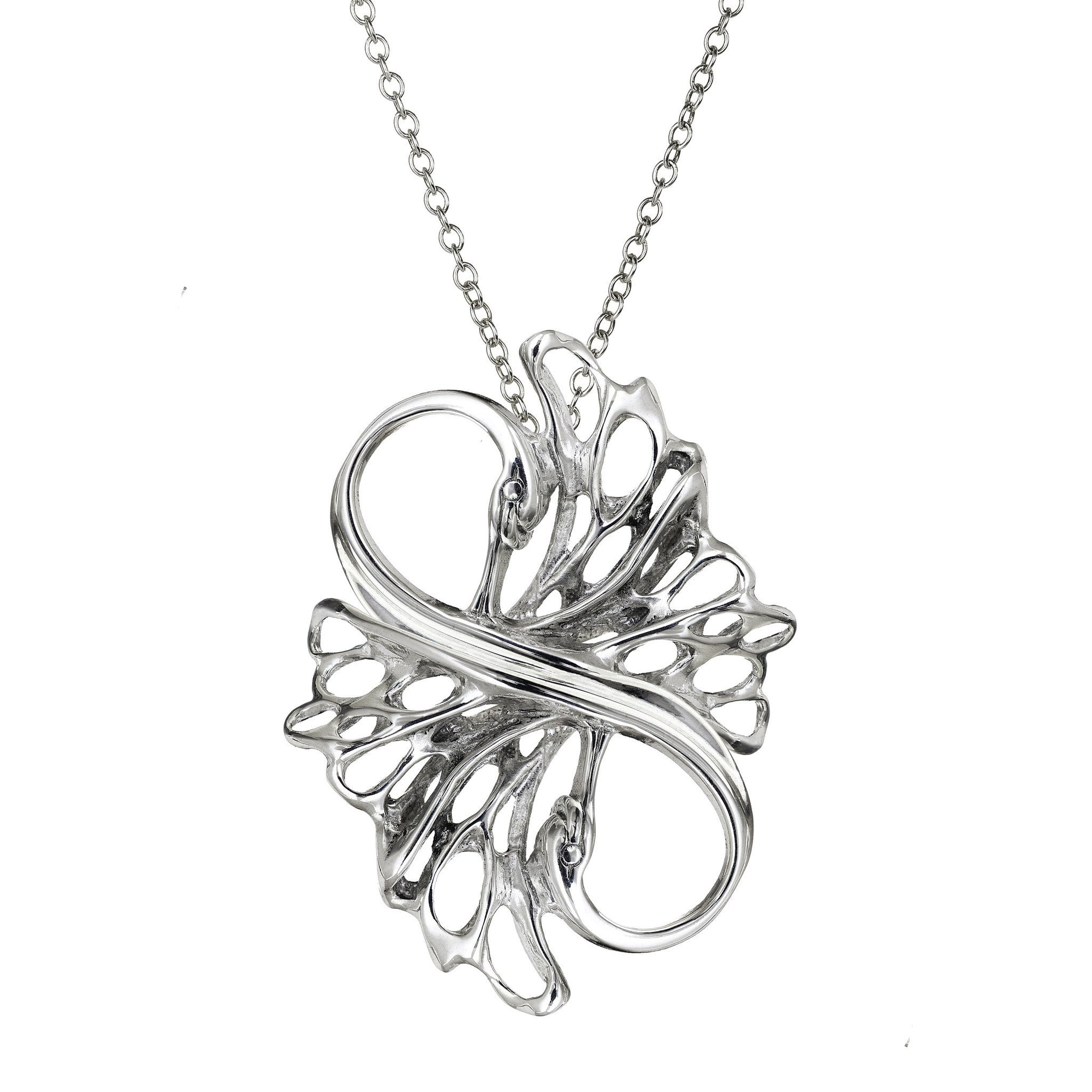 Sterling Silver Irish Jewellery, a Swan Pendant that can be purchased as a gift set to show your love!