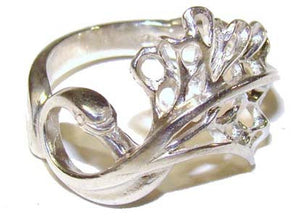 Sterling Silver or Gold Swan Ring, handmade irish jewellery! A special gift for a loved one!