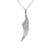 Angel Wings Pendant made from sterling silver, a special jewellery gift for a loved one!
