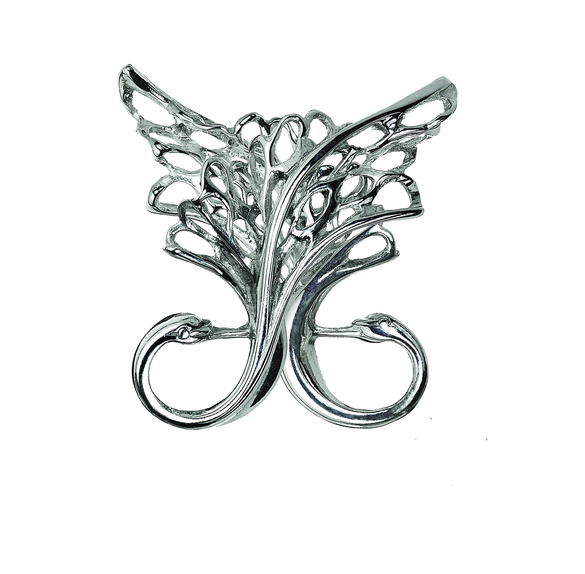 Sterling Silver Twin Brooch. Handmade Irish Designed Jewelry, making the perfect gift!