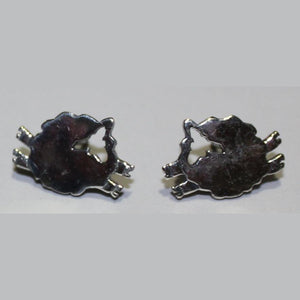 Sheep Stud Earrings are handcrafted from Sterling Silver and full of personality!
