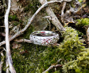 Celtic Claddagh Wedding Band