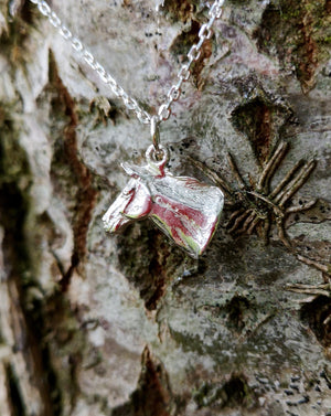Hunter - Horse head pendant