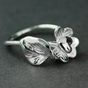 Fire of Freedom 1916 Lily Ring handcrafted by Elena Brennan Jewellery.
