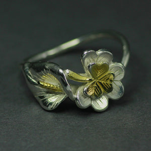 Rebirth of a Nation Lily Ring is handcrafted by Irish Jewellery Designer Elena Brennan.