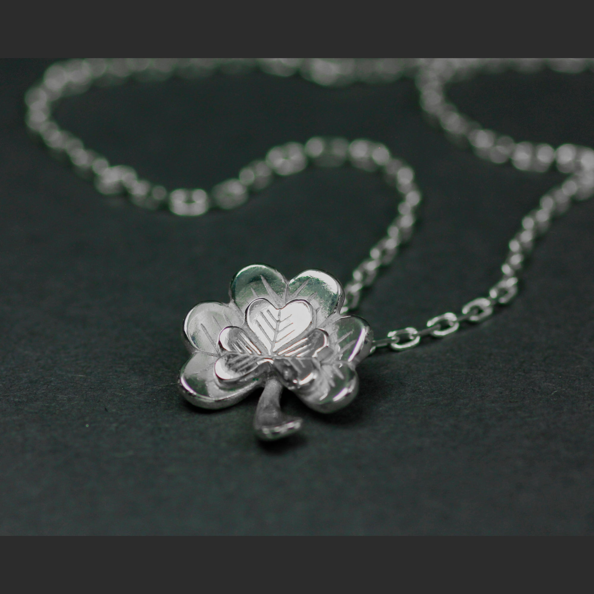 Ireland Forever - Éireann Go Brách Pendant is handcrafted from Sterling Silver by Elena Brennan Jewellery.