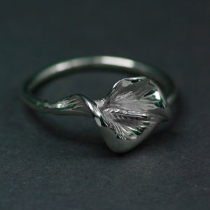 Peace 1916 Lily Ring is handcrafted by Irish Jewellery Designer Elena Brennan