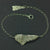 This Angel Wing Bracelet is handcrafted by Elena Brennan Jewellery and made from sterling silver.