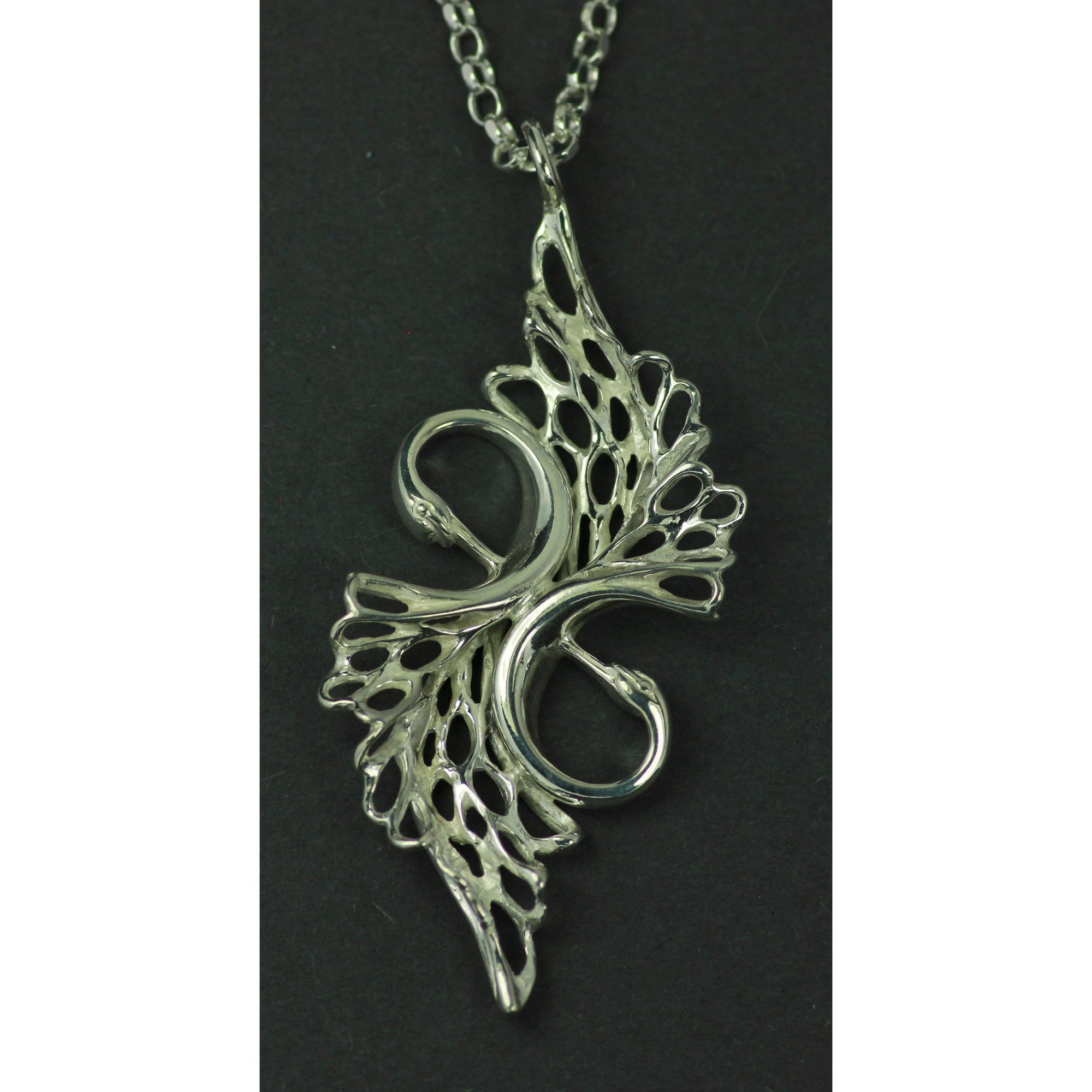 Sterling Silver Forever Swan Pendant is the perfect wedding jewellery gift for a loved one!