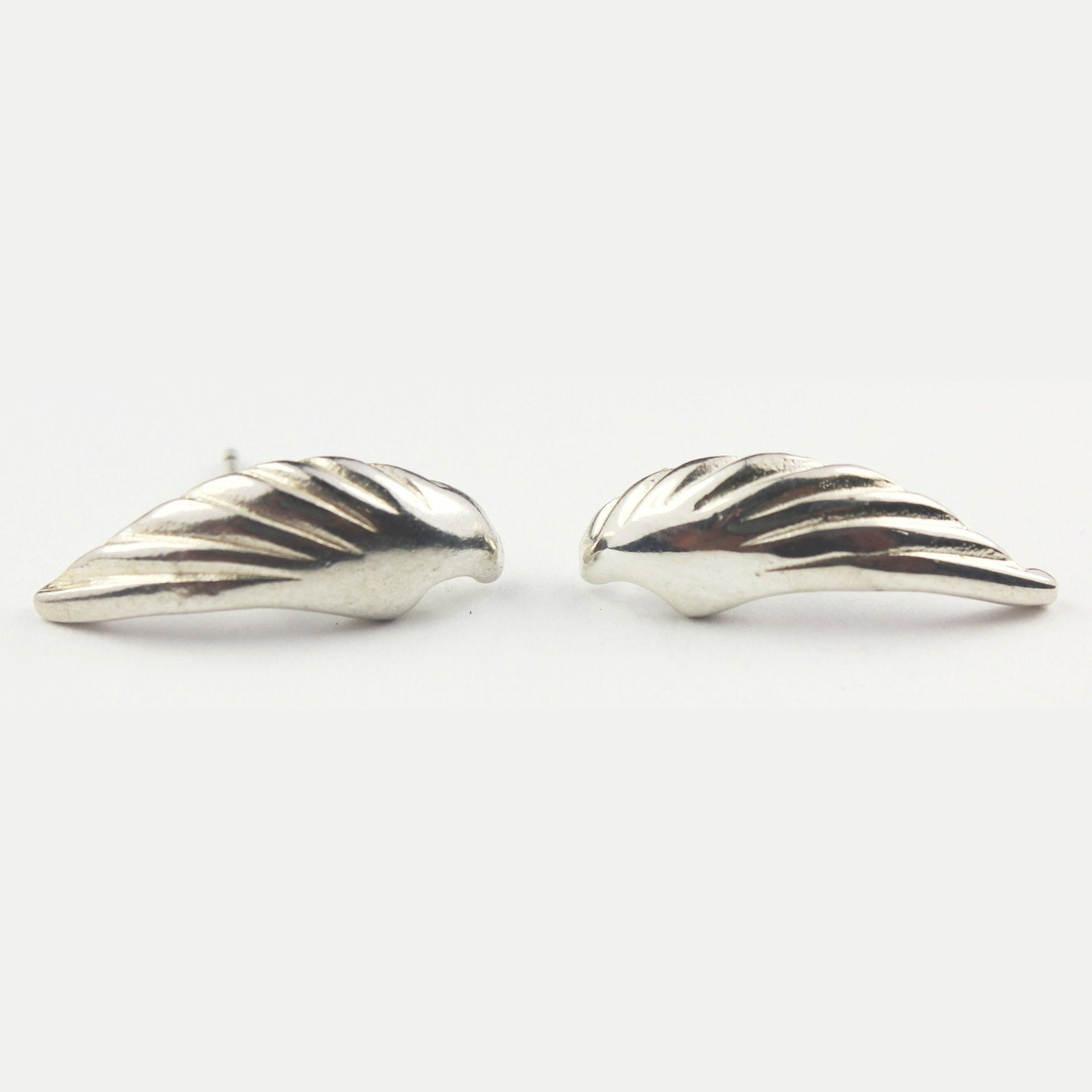 Angel Wing Stud Earrings, made from Sterling Silver and filled with love they make the perfect gift!