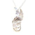 Celtic Angel Wing Pendant made with silver sterling, this Irish made jewelry, is a unique and special gift for a loved one!