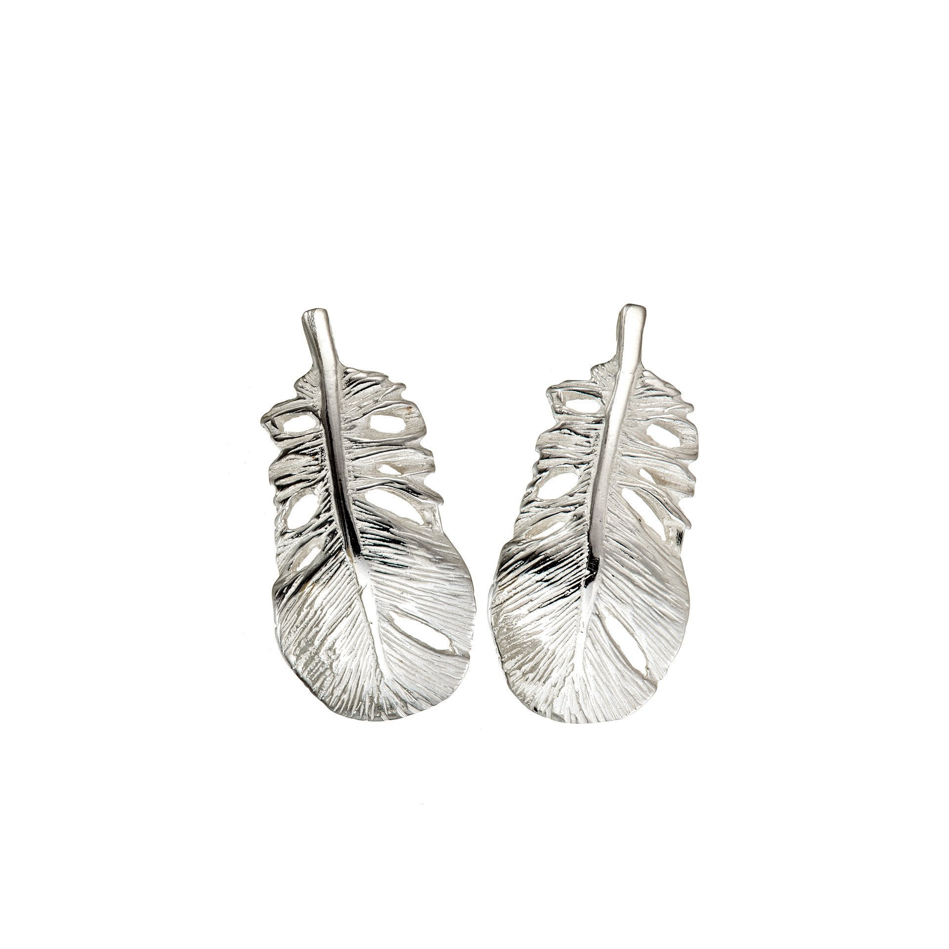 Baby Angel Feather Studs Earrings are a special reminder of the Angels watching over us.